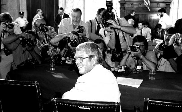 President Jimmy Carter's younger brother, Billy, became the target of a Senate investigation over his ties to the Libyan government and appeared before the Senate Judiciary Committee in August 1980.