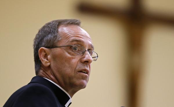 "Cathedral High School leadership in Indianapolis says Archbishop Charles Thompson issued ""direct guidance"" that the school fire a teacher in a same-sex marriage or forfeit its Catholic identity."