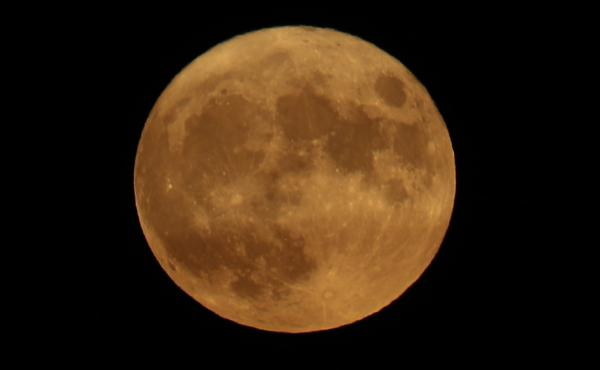 Last year's harvest moon took place on Oct. 1. The lunar event is designated as the full moon occurring nearest to the autumnal equinox every year.