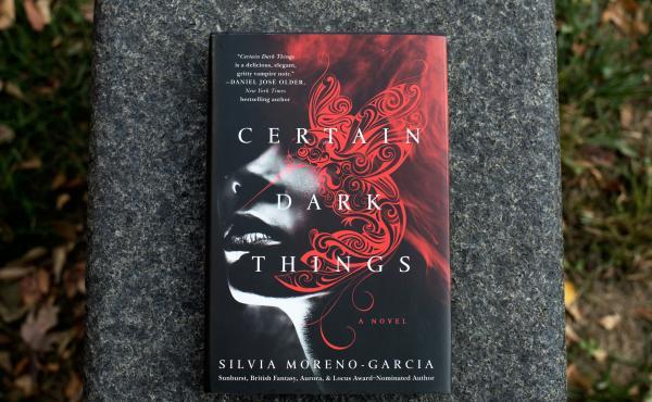 Certain Dark Things by Silvia Moreno-Garcia (Raquel Zaldivar/NPR)