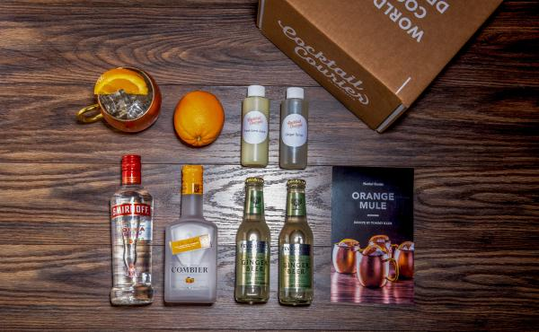 As meal kits gain market share, craft cocktail subscription boxes have followed. Each service has a different take on the model. Some, like Cocktail Courier, deliver mini bottles of alcohol — just enough to make the featured recipe, like the ingredients