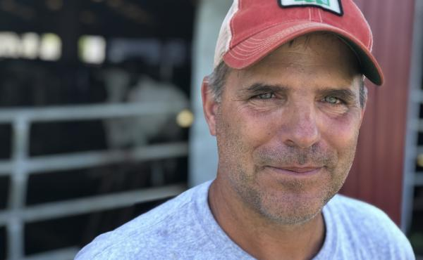 Peter Melnik, a fourth-generation dairy farmer, owns Bar-Way Farm, Inc. in Deerfield, Mass. He has an anaerobic digester on his farm that converts food waste into renewable energy.