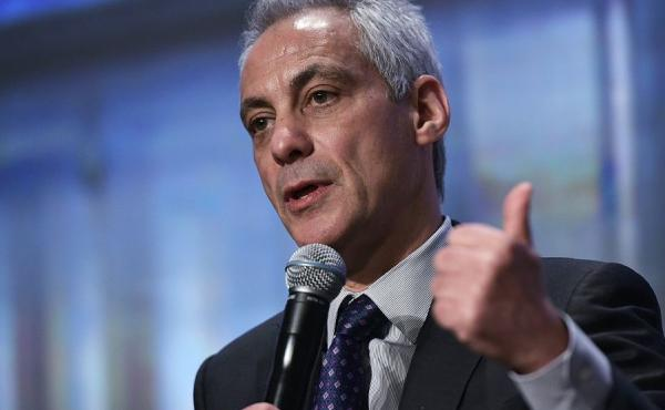 Chicago Mayor Rahm Emanuel speaks at the 84th winter meeting of the U.S. Conference of Mayors in January in Washington, D.C.