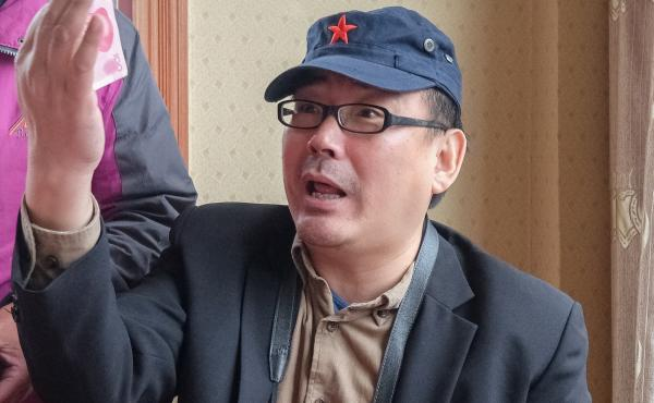 China has arrested Yang Hengjun, an author and former Chinese diplomat who is now an Australian citizen. He's seen here in a 2014 photo on social media that was taken during a visit to Tibet.