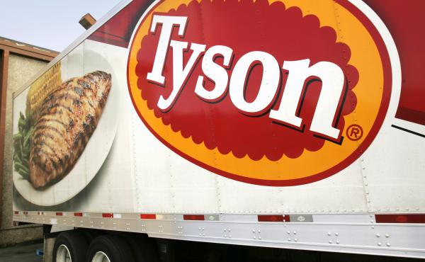 China says it's suspending imports from a Tyson Foods poultry plant in Arkansas after the company confirmed more than 200 coronavirus cases at the facility.