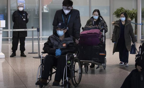 As the number of new cases dwindles in China but multiplies worldwide, the country has become more worried about importing cases. Earlier this month, travelers arriving from abroad left the Capital International Airport in Beijing.