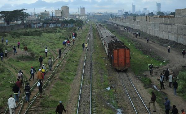 Over the next few years China will build a multi-billion dollar railway linking the Kenyan port of Mombasa to Nairobi (shown here), based on an agreement signed earlier this month by East African and Chinese officials. It's one of many examples of China's