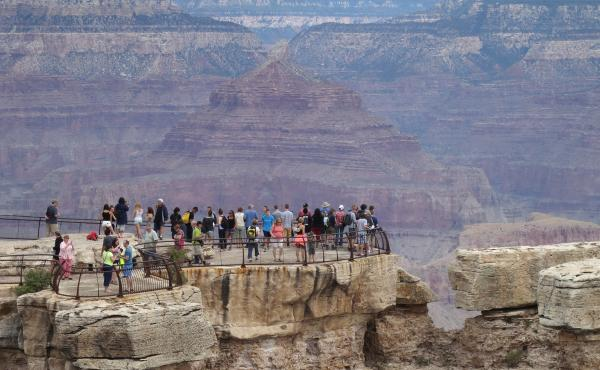 Grand Canyon officials don't keep track of visitors by country of residence, but Mandarin-language brochures are the most in demand there. The Arizona Office of Tourism estimates that in 2018, the number of Chinese visitors to the state dipped 3.7%, after