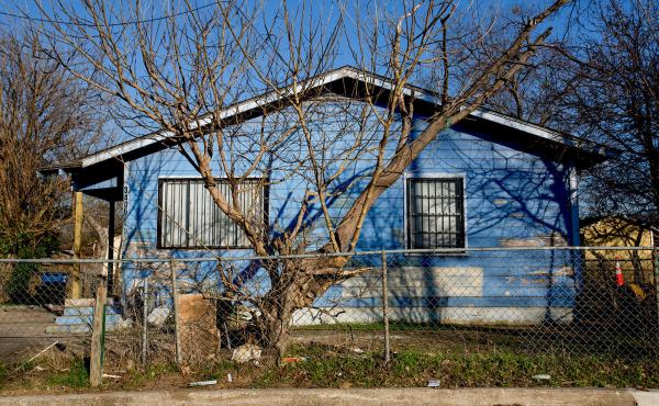 Little by little, neighborhoods in West Dallas are fading away.