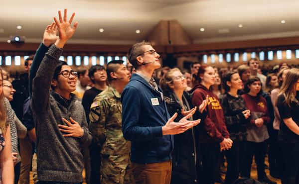 """Calvin College in Michigan is affiliated with the Christian Reformed Church, which holds that """"homosexual practice ... is incompatible with obedience to the will of God as revealed in Scripture."""""""