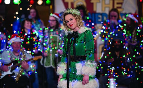 Emilia Clarke stars in Paul Feig's Last Christmas.
