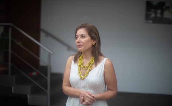 Marianne Menjivar heads the International Rescue Committee's Colombia office. She says Venezuela's crisis has made family planning impossible.
