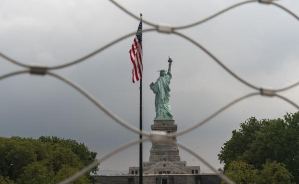 The Statue of Liberty in August 2019.