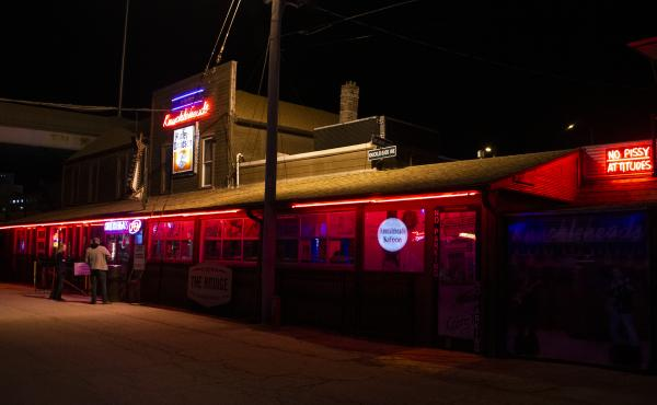 Knuckleheads Saloon is a four-stage music venue in Kansas City, Mo.