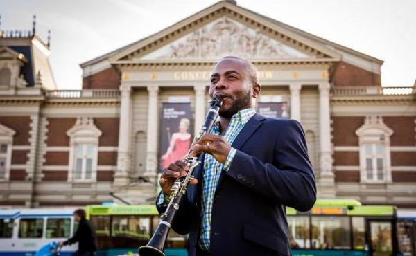 New York Philharmonic principal clarinetist Anthony McGill coined the hashtag #TakeTwoKnees as part of a social media effort to protest police violence.