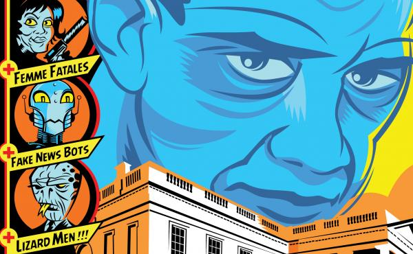 Cover detail from The Obama Inheritance, edited by Gary Phillips