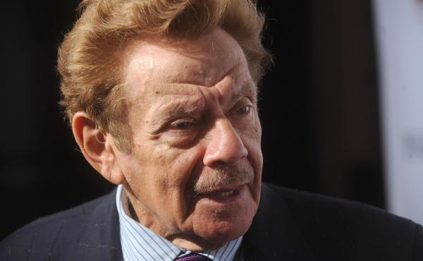Jerry Stiller performed in a comedy duo with his wife, Anne Meara, and also appeared in films and on Broadway and television. Onscreen, he was George Costanza's father; in real life, he was dad to actor Ben Stiller. He's pictured above in New York City in