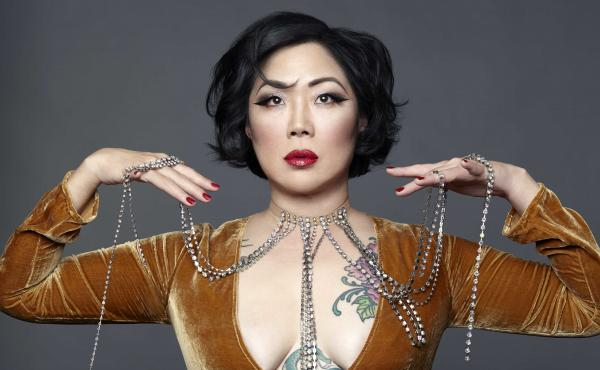 Comedian Margaret Cho is currently on a stand-up tour called Fresh Off the Bloat.