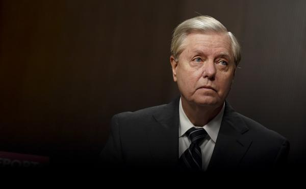 Chairman of the Senate Judiciary Committee Sen. Lindsey Graham, R-S.C., holds a hearing on Wednesday on the FBI's investigation of the 2016 Trump campaign and Russian election interference.