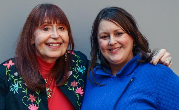 """During their StoryCorps interview in April, Elizabeth Coffey-Williams (left) told her niece, Jennifer Coffey (right), about how her loving family did not understand what being transgender meant. """"My parents were afraid, well, you know, this might be conta"""