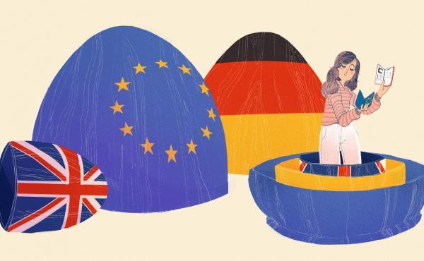 """I've spent much of my life becoming German,"" writes British-born journalist Esme Nicholson."