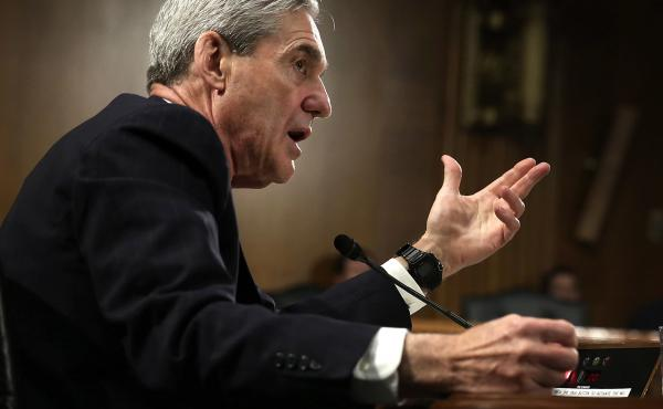 Then-FBI Director Robert Mueller testified during a Senate hearing in 2013. Lawmakers are studying old film to prepare for his hearing scheduled for next week.