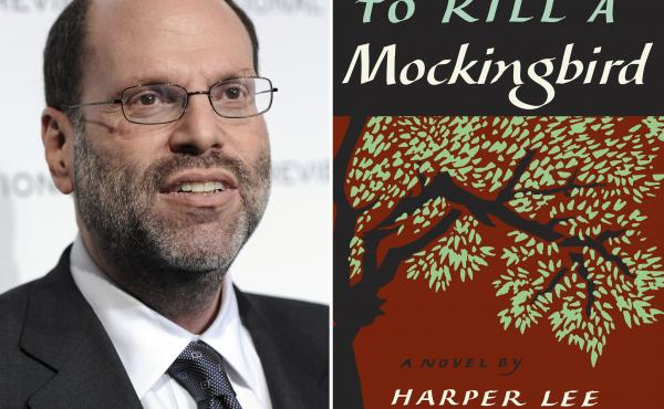 Lawyers for Broadway producer Scott Rudin (left) claim his production of To Kill a Mockingbird is the only one that can be performed near a major city.