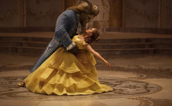 Emma Watson and Dan Stevens star in Disney's new live-action adaptation of Beauty and the Beast.