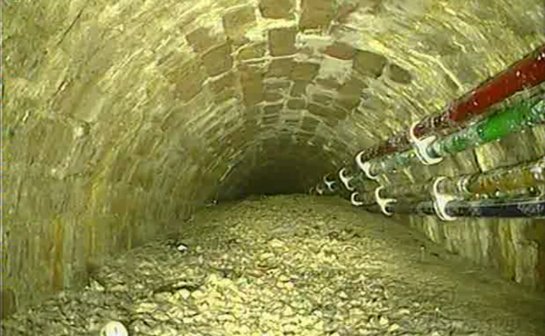 """Thames Water says it is removing a massive """"concreteberg"""" from London's sewer system."""