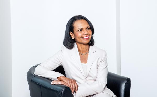 """""""What the American Founding Fathers understood was that institutions were built for human imperfection, not human perfection,"""" Condoleezza Rice says."""