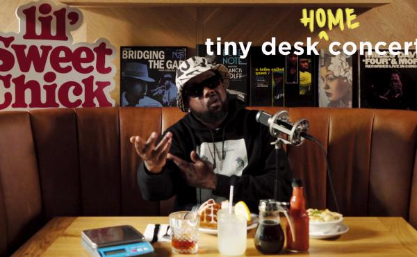Conway The Machine plays a Tiny Desk (home) concert.
