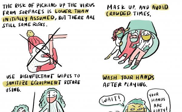 Comic by Malaka Gharib/NPR