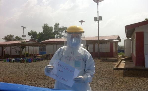In 2014, Martha Phillips, an American nurse, traveled to West Africa during the Ebola crisis to provide medical care. Treating Ebola not only taught her how to stay safe around a deadly virus but also how to manage the stress and sadness of working during
