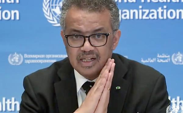 """""""To win, we need to attack the virus with aggressive and targeted tactics,"""" World Health Organization head Tedros Adhanom Ghebreyesus says of the COVID-19 respiratory disease, which is now in nearly every country in the world."""