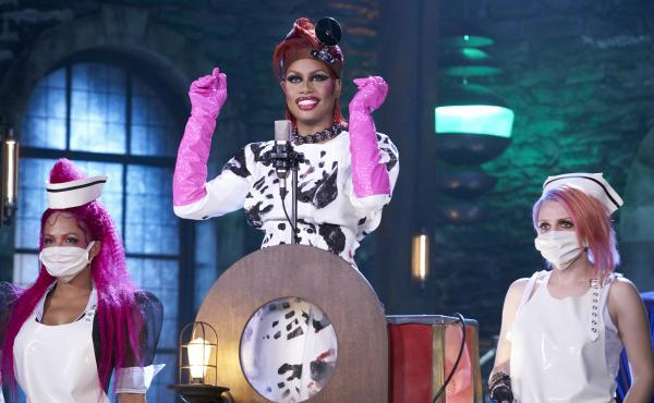 Christina Milian, Laverne Cox and Annaleigh Ashford appear in the Fox remake of the classic cult musical, The Rocky Horror Picture Show, which premieres Oct. 20.