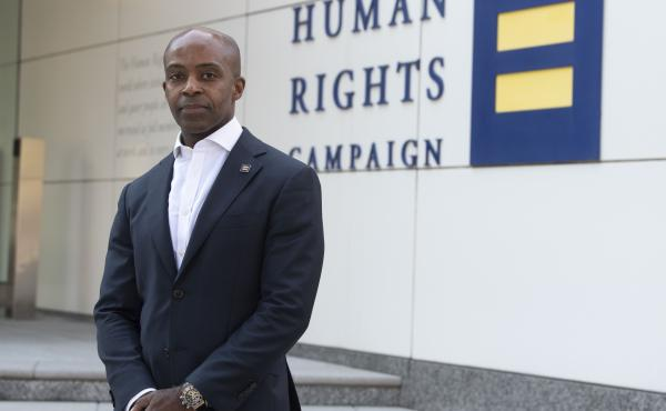 Alphonso David, the president of the Human Rights Campaign, has faced calls for his resignation over ties to New York Gov. Andrew Cuomo's sexual harassment scandal. The Human Rights Campaign has launched an internal investigation. David has denied all wro