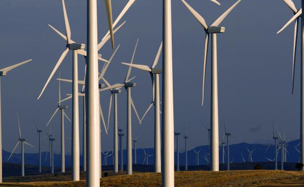 A wind farm in Wyoming generates electricity for a region that used to be more dependent on coal-fired power plants. A new study finds that millions of lives could be saved this century by rapidly reducing greenhouse gas emissions.