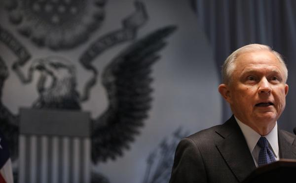 An advocacy group says a move at the Drug Enforcement Agency to hire prosecutors is another signal of how the Justice Department is changing under Attorney General Jeff Sessions.