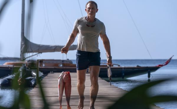 In No Time to Die, Daniel Craig shows us a James Bond who's gone fishing.