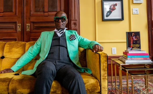 """I consider myself one who creates clothes, and fashions clothes, and uses it as a vehicle to fashion young minds,"" says clothier Dapper Dan."