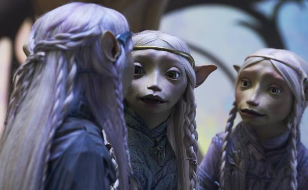 The three sister-princesses of the Vapra clan await the apology they feel they are owed in the Netflix prequel series Dark Crystal: Age of Resistance.