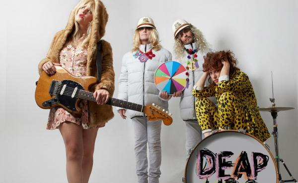 """Deap Lips is a collaboration between Deap Vally and members of The Flaming Lips. Its debut, Blam, is """"a psychedelic dream with jagged edges,"""" perfect for quarantine listening, our critic writes."""