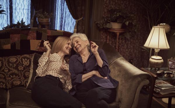Laura Linney (left) and Olympia Dukakis reprise their roles as Mary Ann Singleton and Anna Madrigal in the Netflix reboot of Tales of the City.