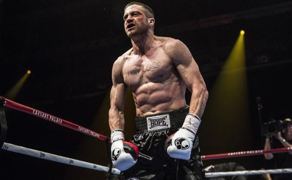 Actor Jake Gyllenhaal stars in Southpaw, a new movie about a junior middleweight boxing champion who faces adversity.