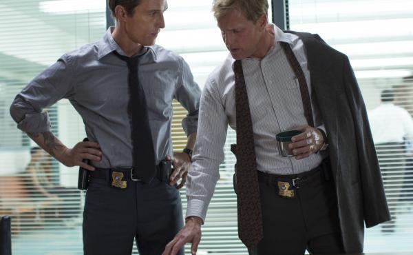 Matthew McConaughey and Woody Harrelson star in HBO's True Detective.