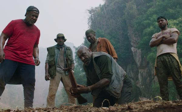 Delroy Lindo (center) stars in Da 5 Bloods as Paul, a Vietnam veteran whose conservative politics are driven by a sense of betrayal