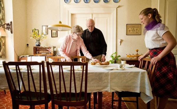 """The Old Town Museum in Aarhus, Denmark has created a """"House of Memories"""" that's an exact replica of a 1950s apartment. It's intended for Alzheimer's patients, whose memories may be triggered by the sights, sounds and smells from the period, researchers sa"""
