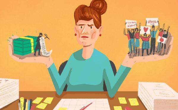 Teacher strike debate