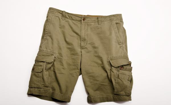 Cargo pants started out as a staple of military clothing and became a trend that saw its peak in the late 1990s and early 2000s. Recently there's been a backlash against cargo shorts.