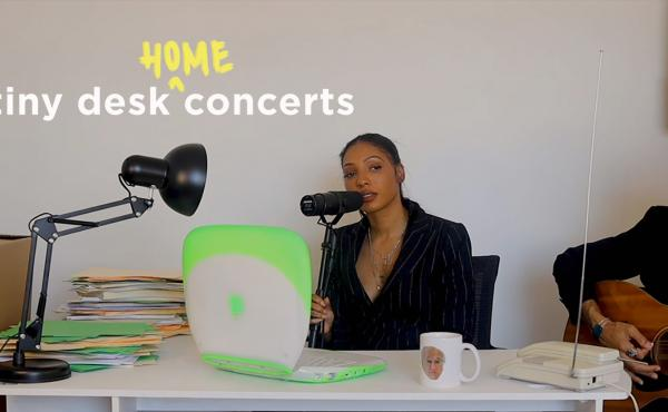 Diana Gordon plays a Tiny Desk (Home) concert.